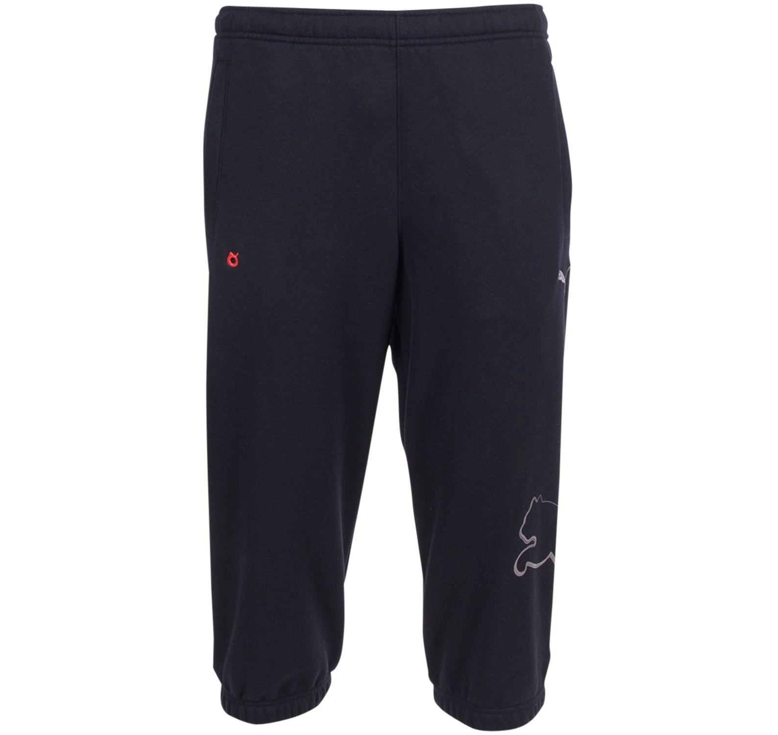 3/4 Sweat Pants, Black, S,  Puma