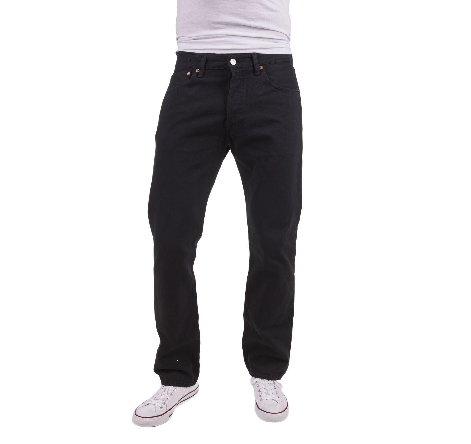 501 levisoriginal fit black 80, blacks, 40/34,  levi's jeans