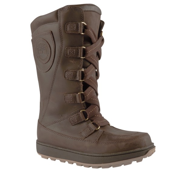 1d1ea12d512 Köp Timberland MUKLUK 8IN WP BRN/GO BROWN - Junior | Sportshopen