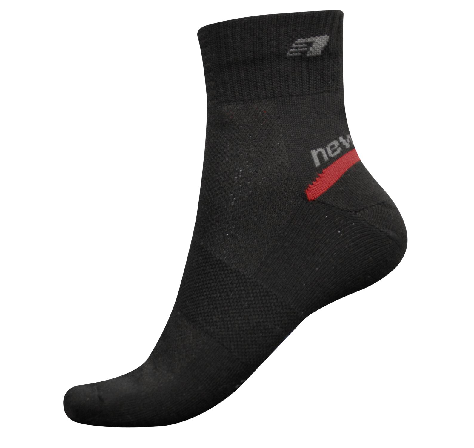 2 Layer Sock, Black, 43-46