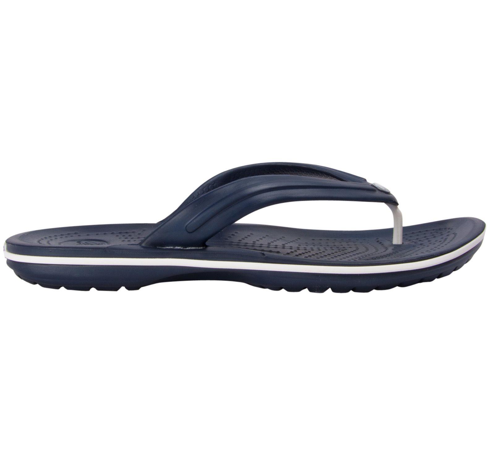 Crocband Flip, Navy, 39-40,  Crocs