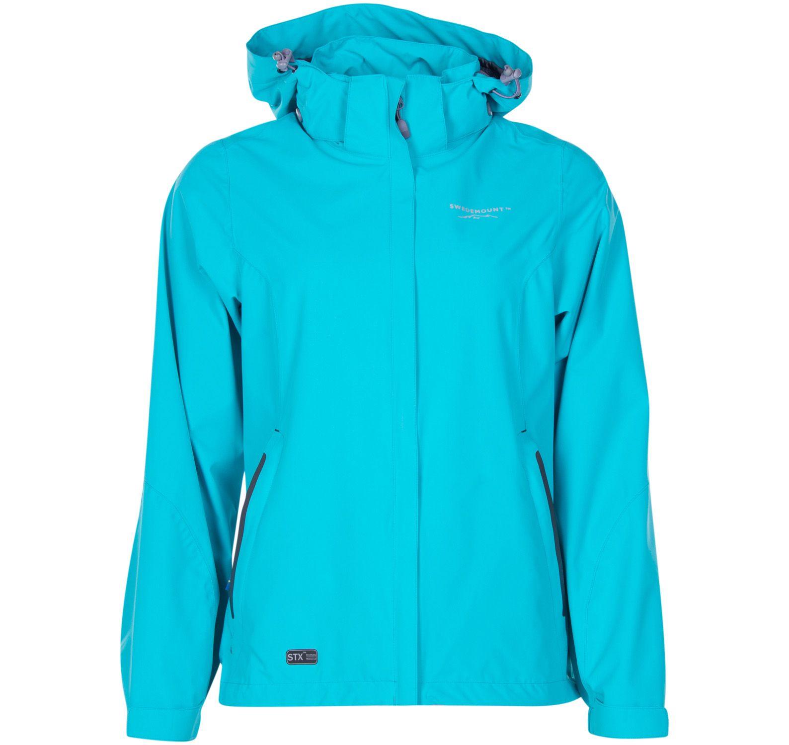 käringön jacket w, new turquoise, 36, regnkläder