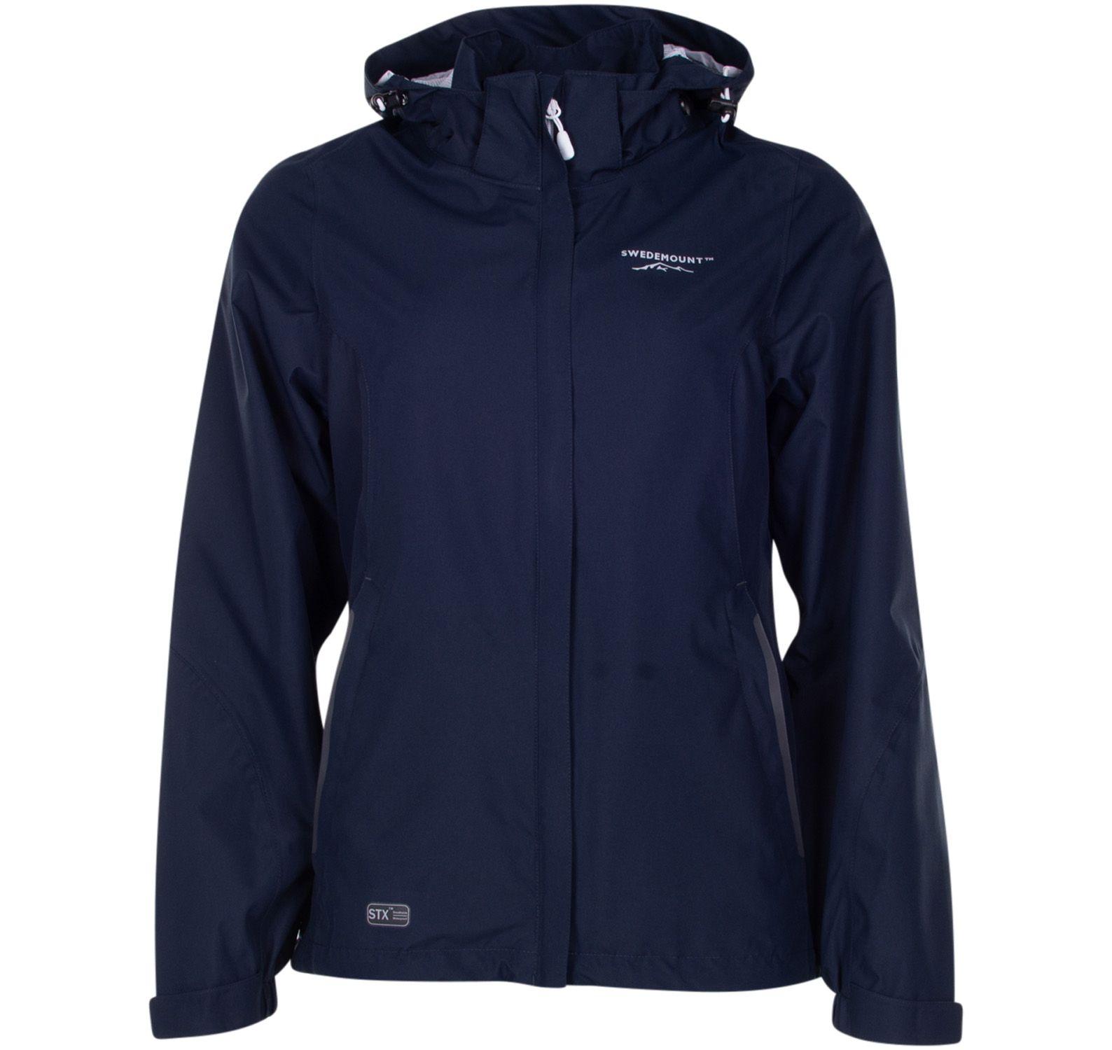 käringön jacket w, dk navy, 36, regnkläder