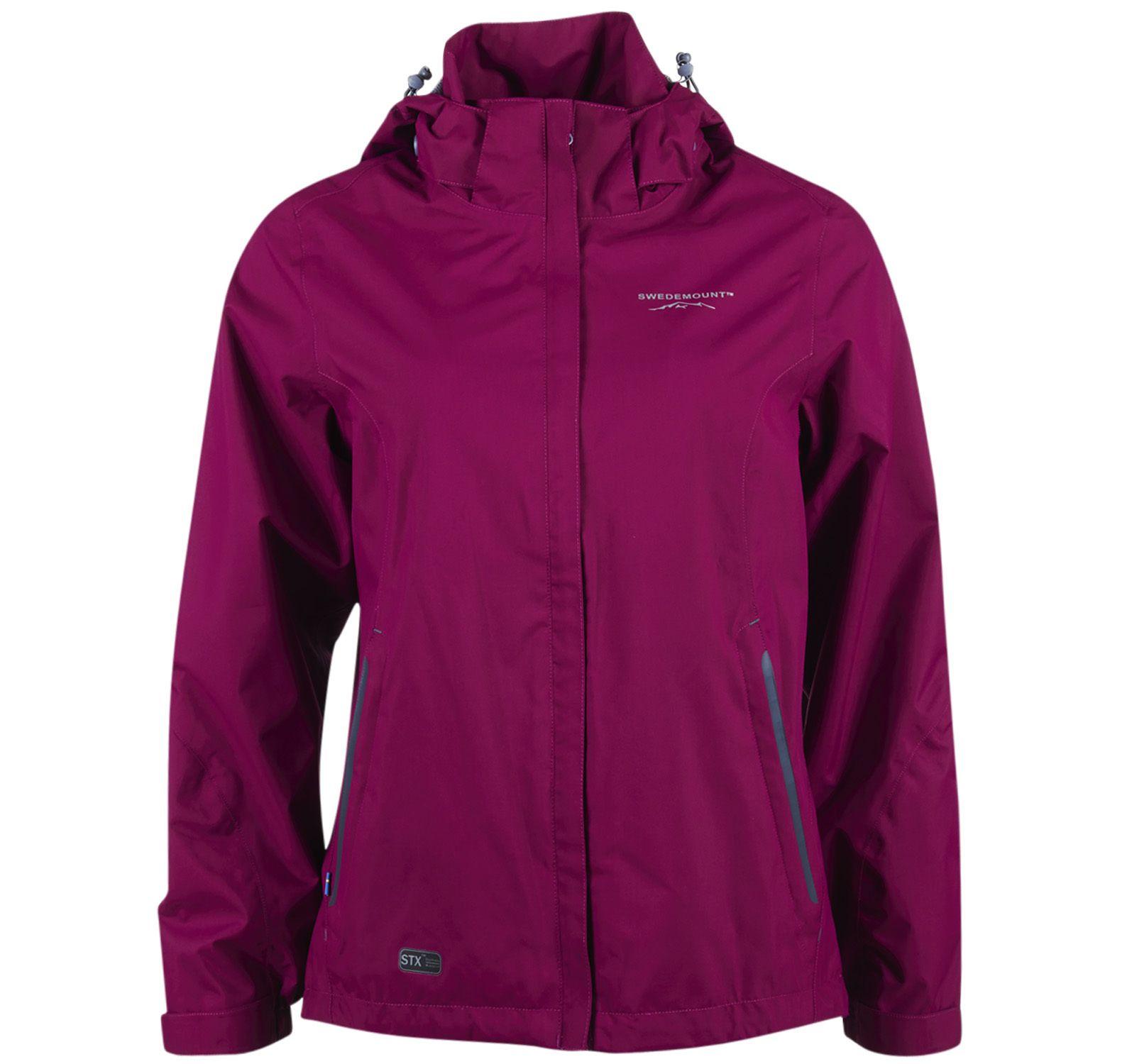 käringön jacket w, purple, 36, regnkläder