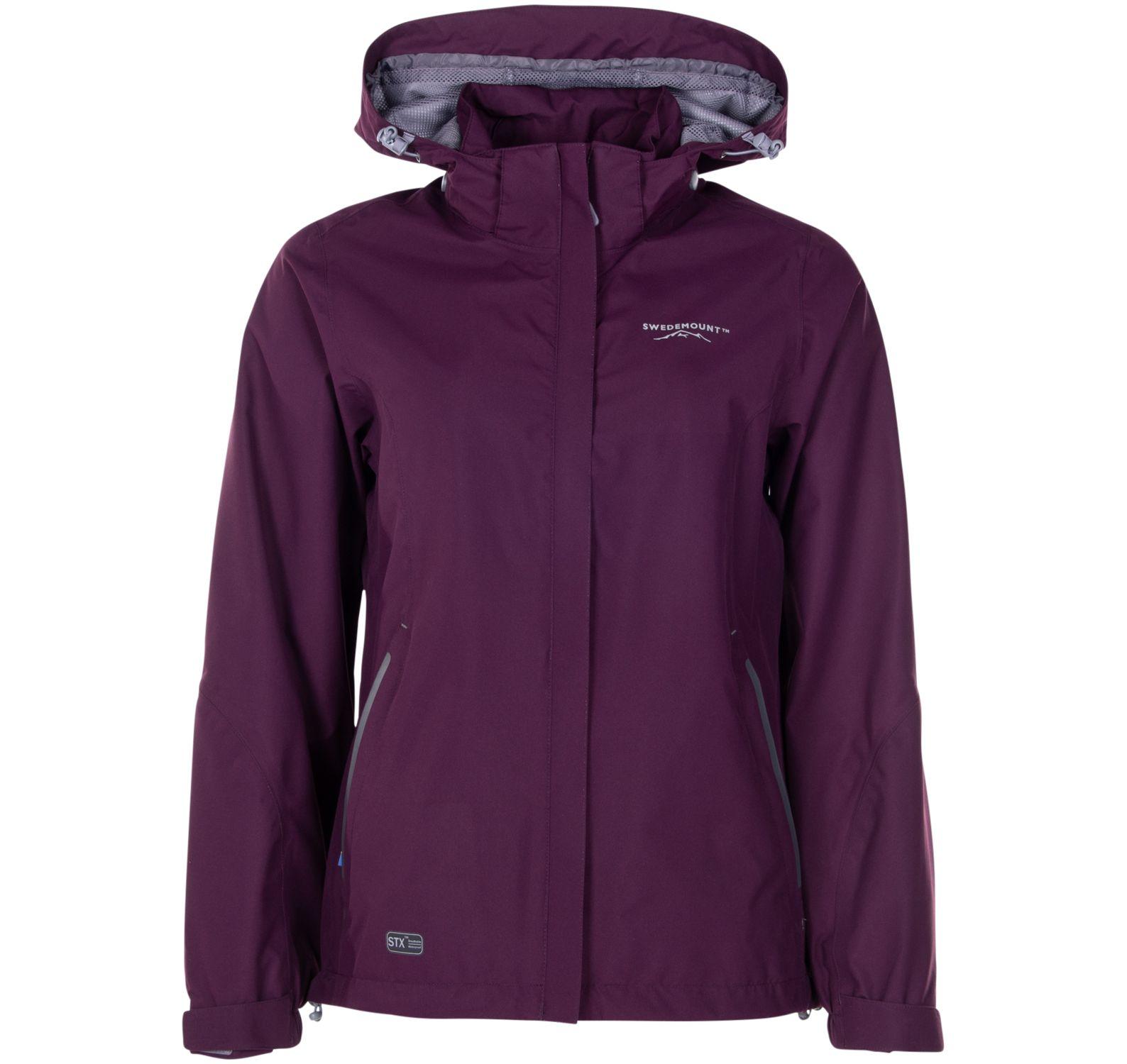 käringön jacket w, plum, 36, regnkläder