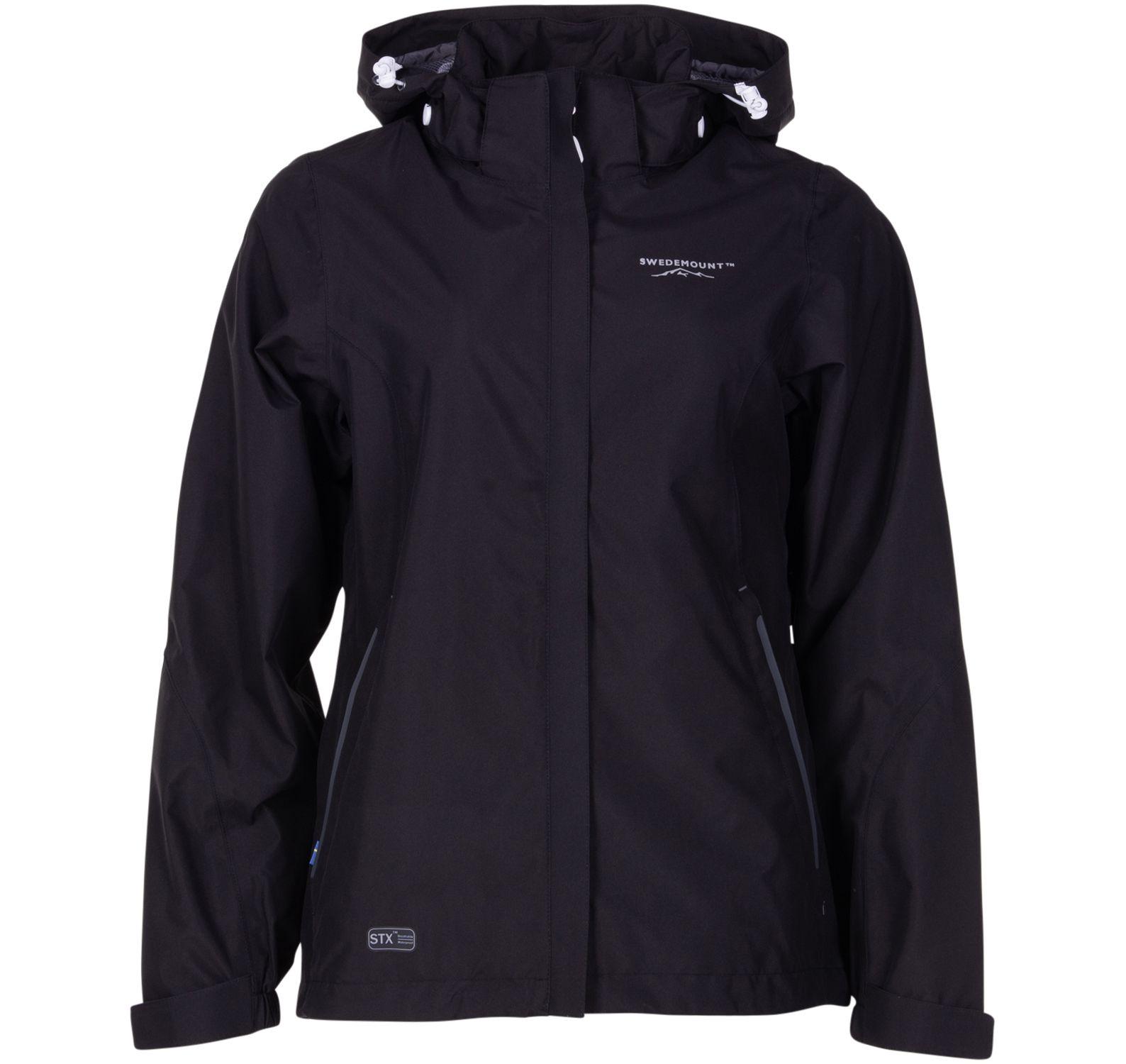 käringön jacket w, black, 36, regnkläder
