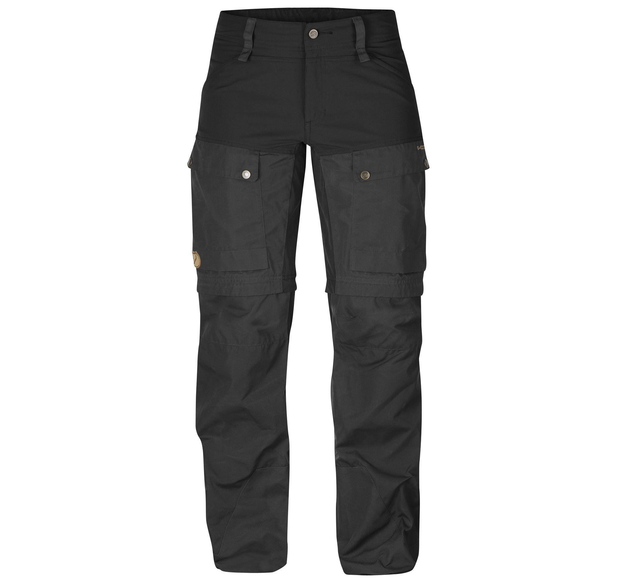 Keb Gaiter Trousers W., Black, 34