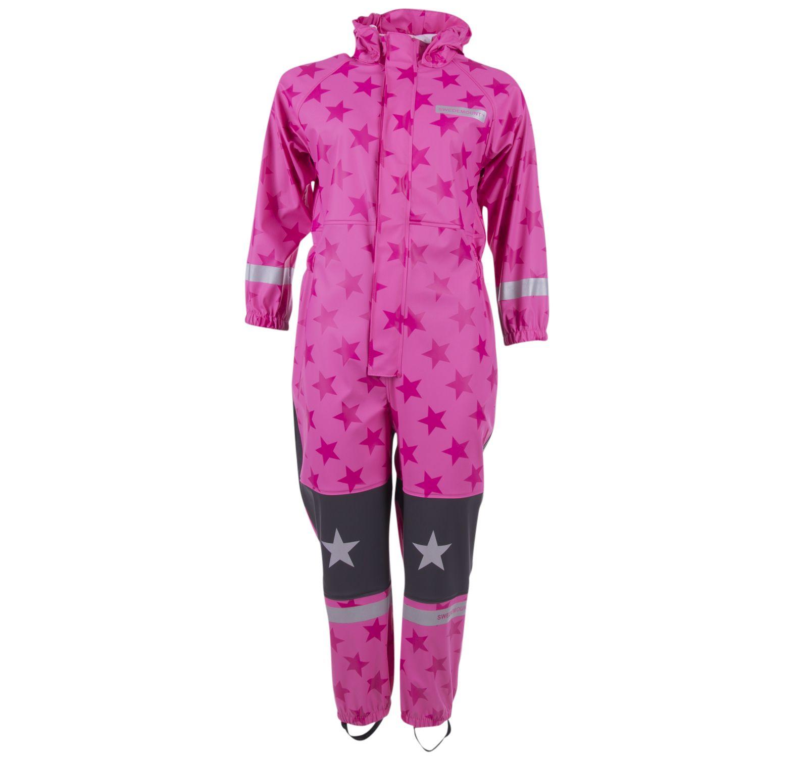 skur rainoverall, pink/dk pink, 100, regnkläder