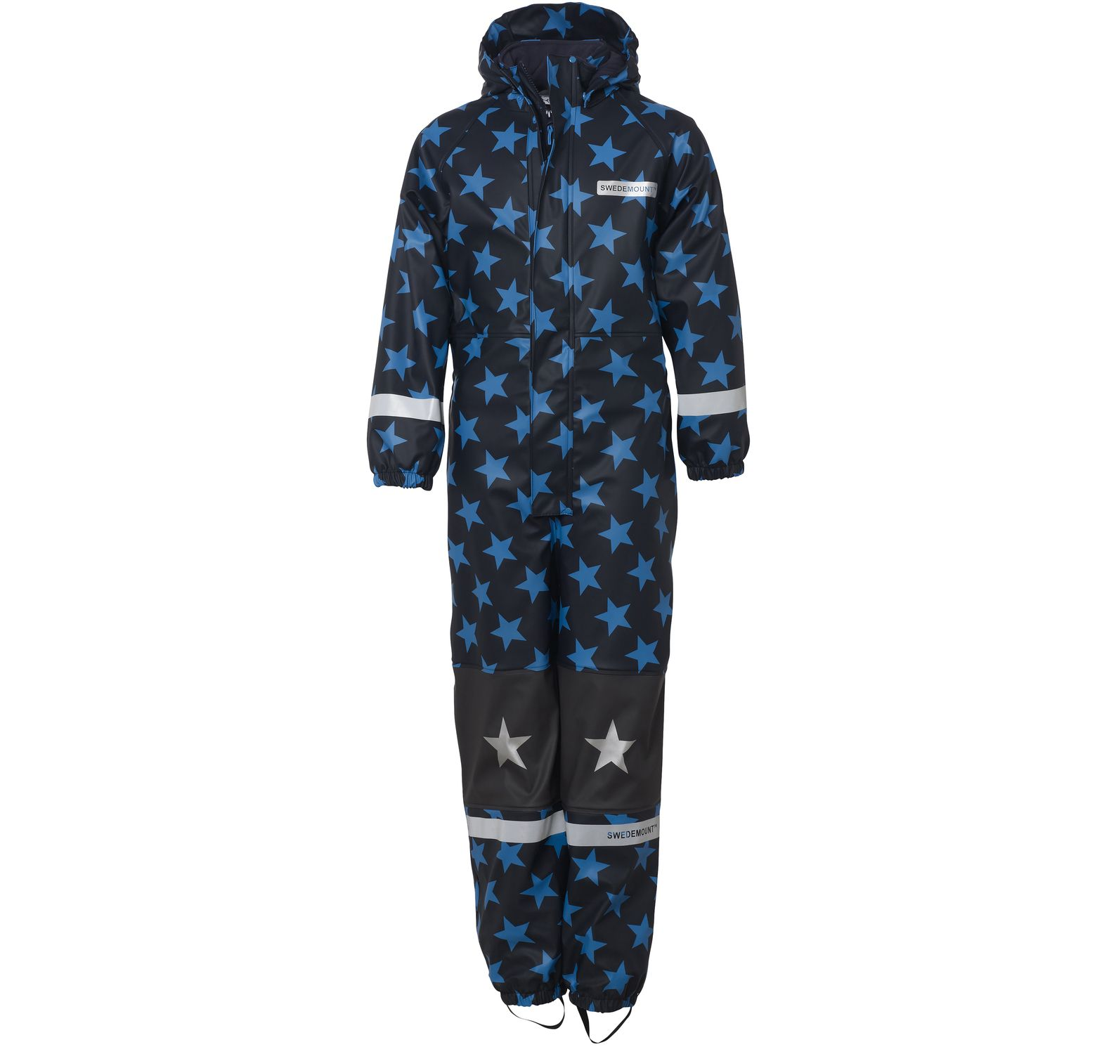 frost rainoverall, sea blue/dk navy, 110, regnkläder för barn