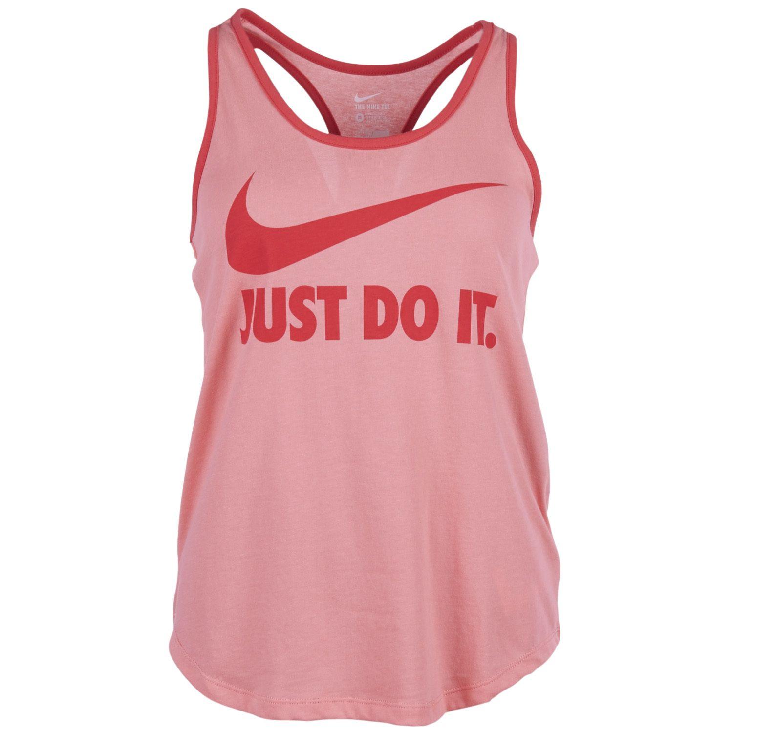 Swoosh Jdi Dfct Racer, Sunblush/Daring Red/Daring Red, Xs,  Nike