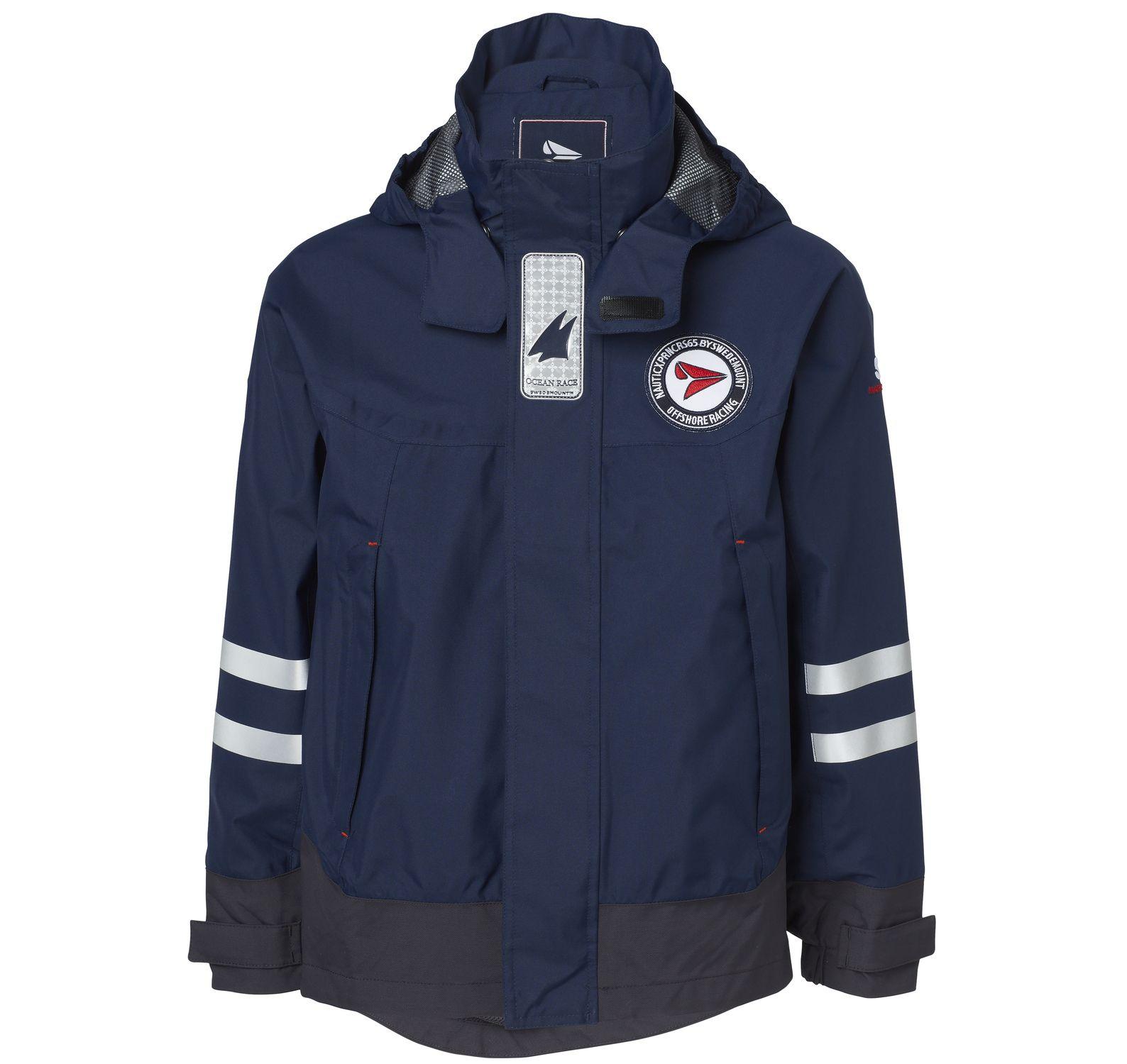 latitude jacket jr, dk navy, 110, regnkläder