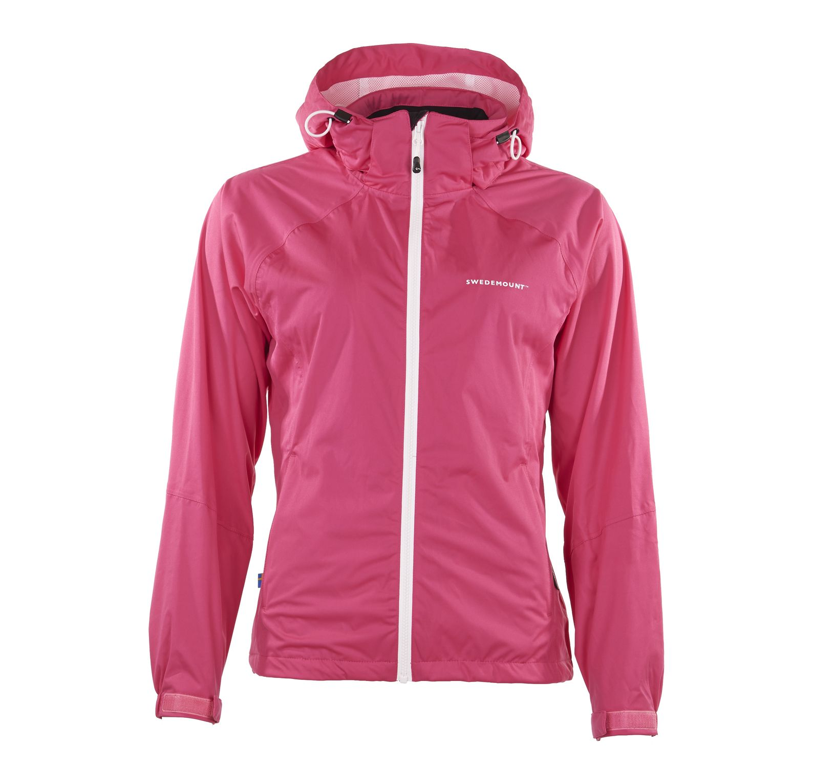On Course Jacket W, PINK/WHITE, 34