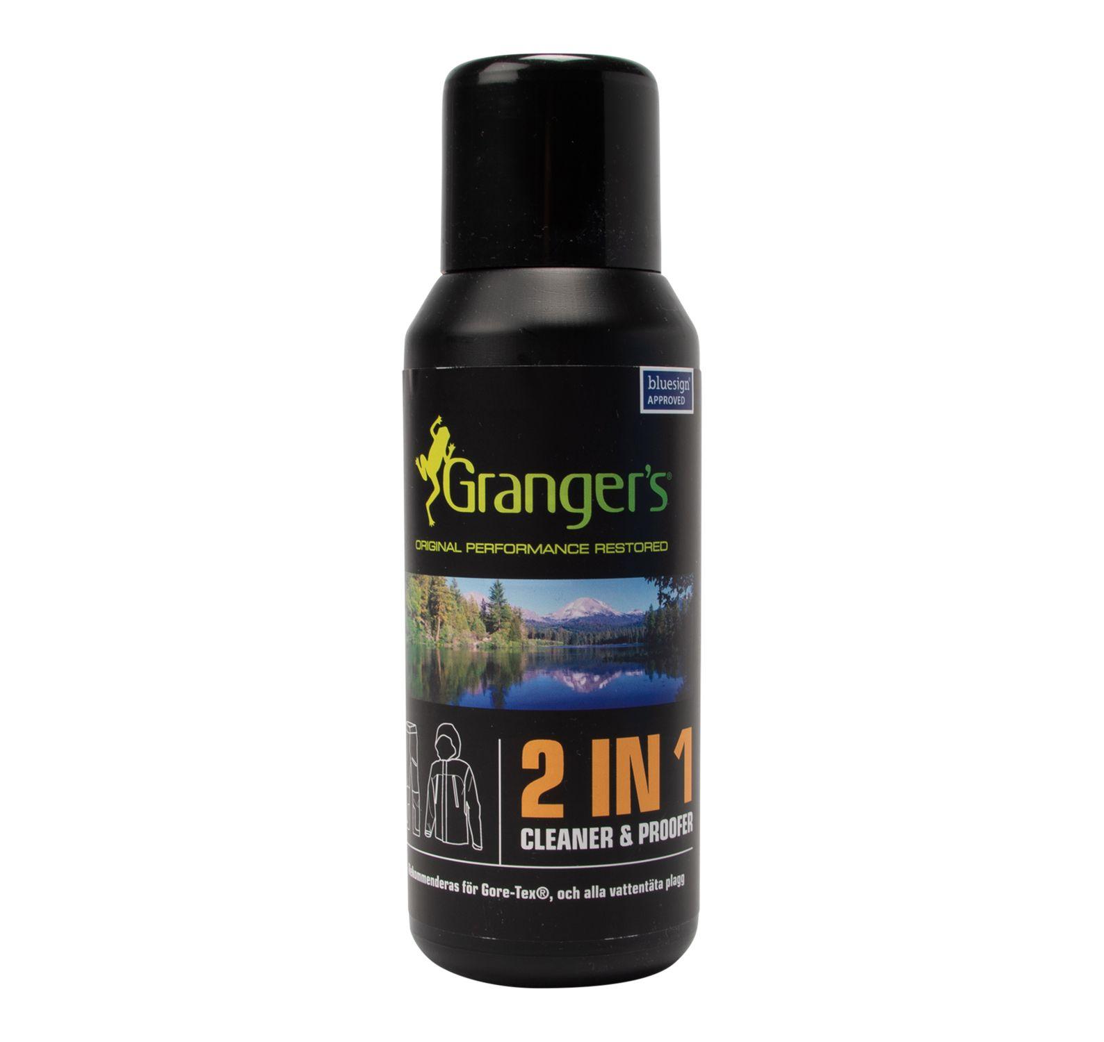 2in1 Cleaner/Waterproofer, Neutral, Onesize,  Grangers