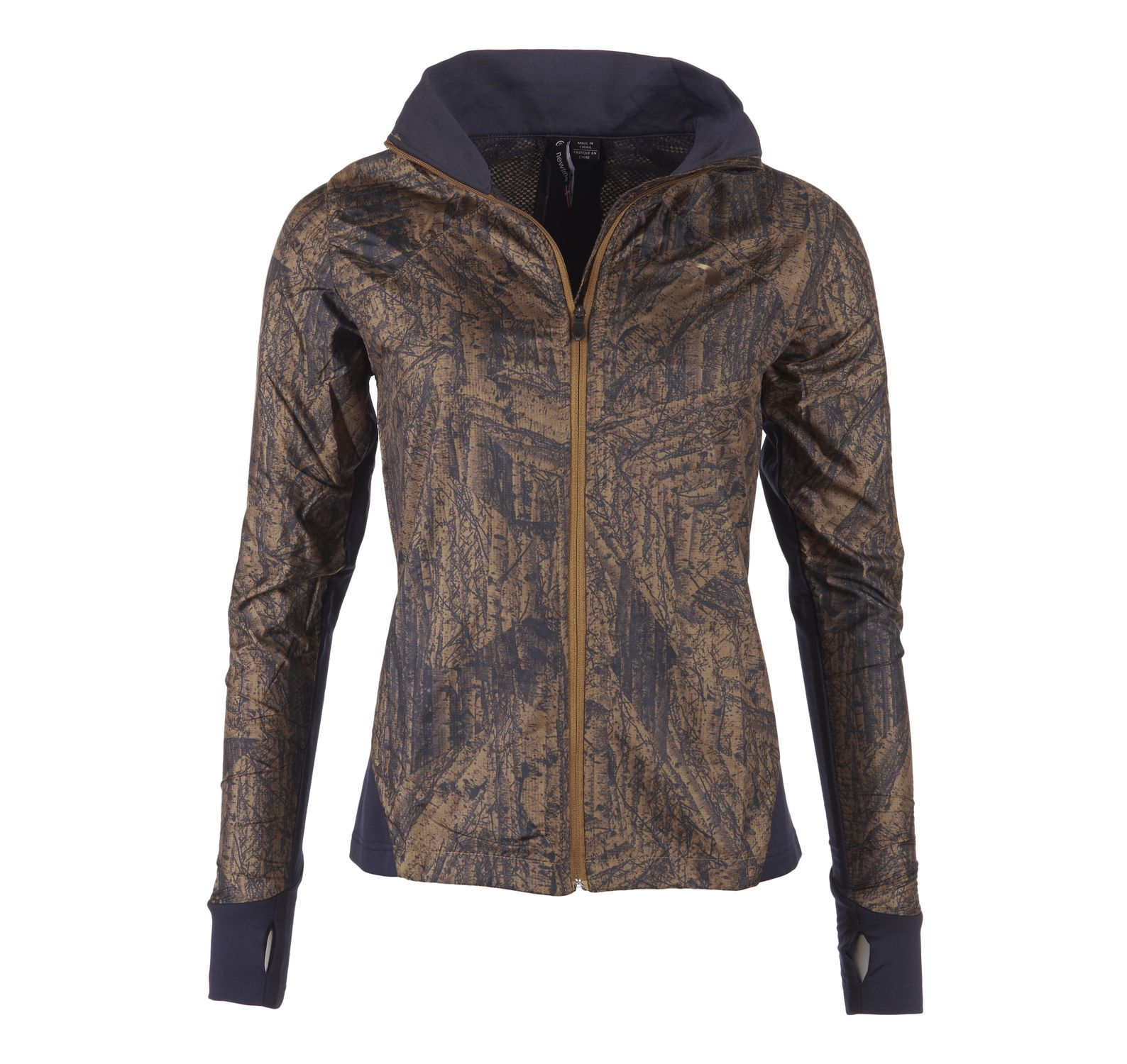 Imotion Printed Cross Jacket, Golden, Xxl