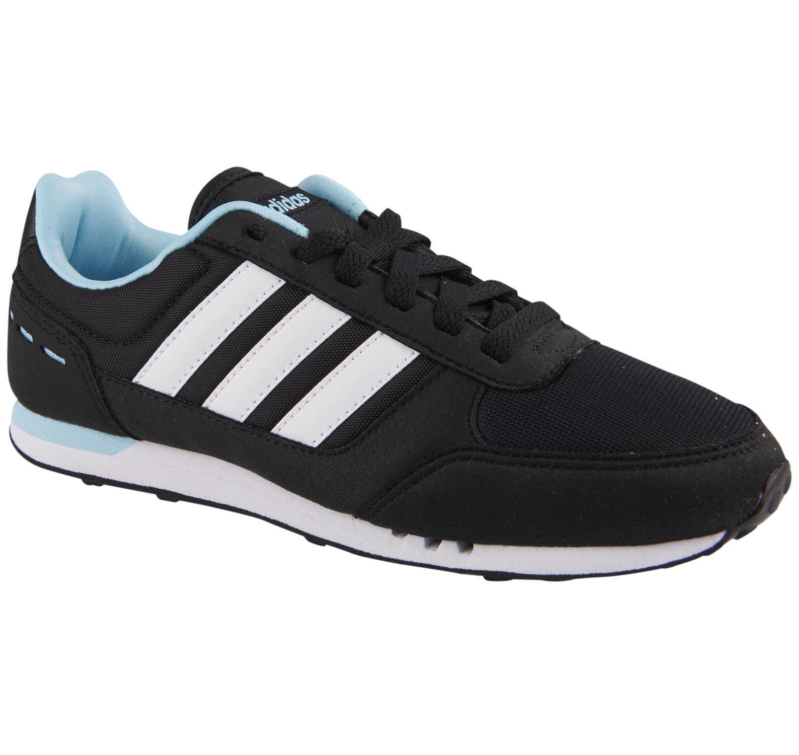 City Racer W, Cblack/Ftwwht/Bluzes, 8,  Sneakers
