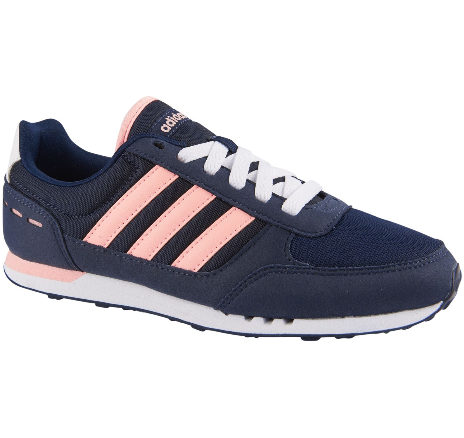 City Racer W, Conavy/Ltflor/Ftwwht, 7.5,  Sneakers