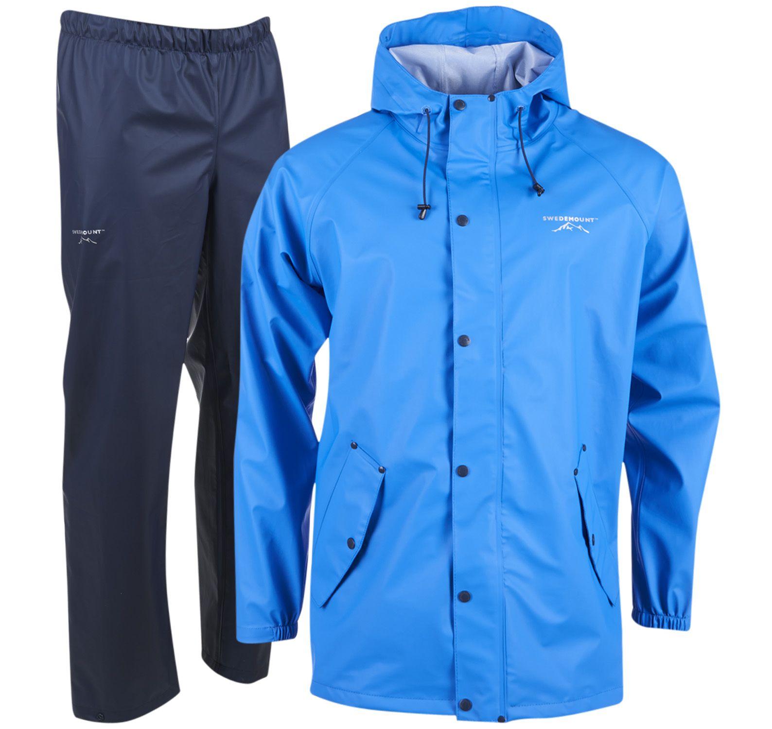 tjärnö rain set, blue/navy, l, regnkläder