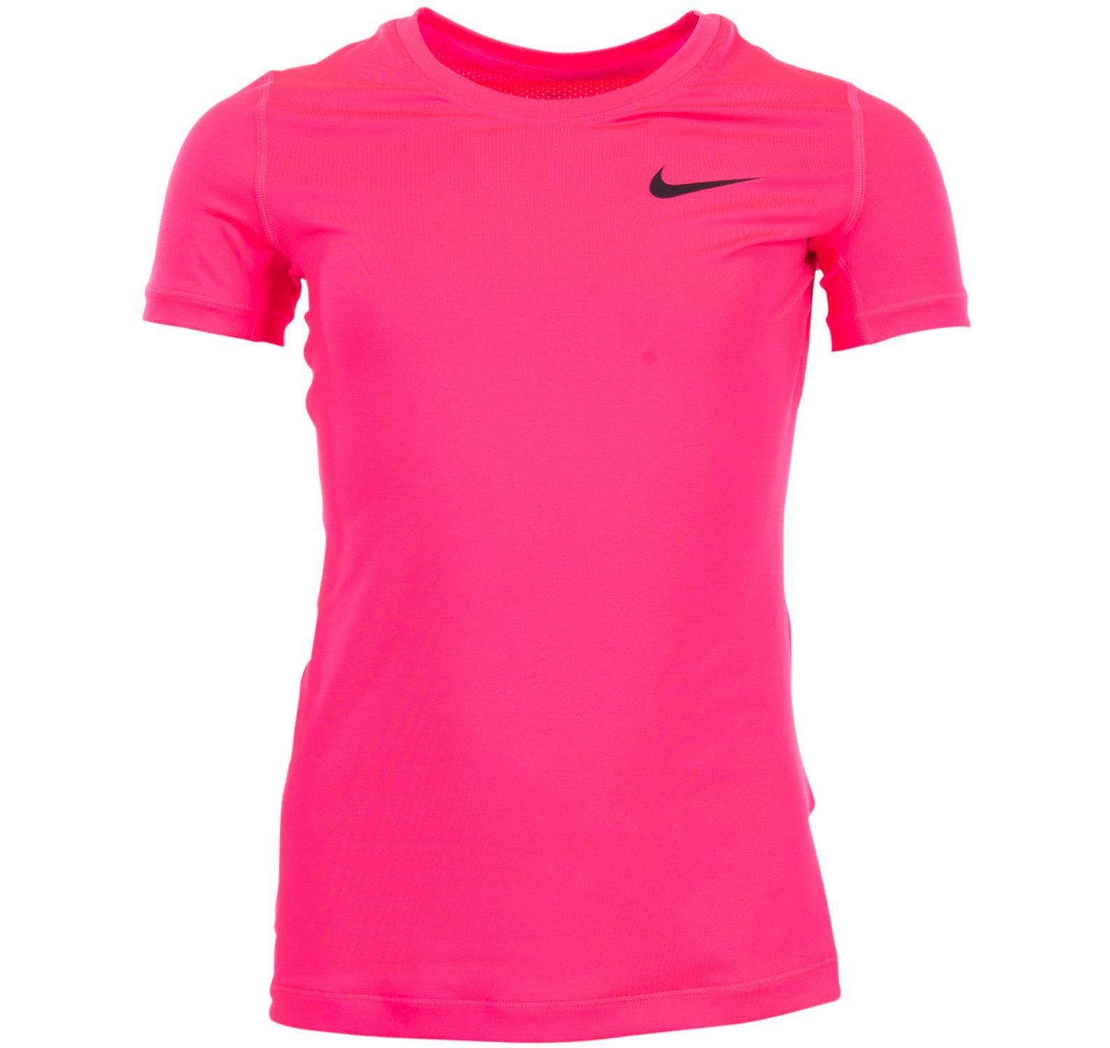 G Np Top Ss, Racer Pink/Racer Pink/Black, Xs,  T-Shirts