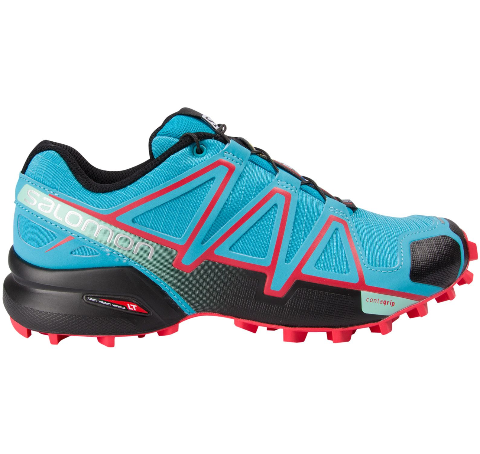 speedcross 4 w, blue jay/ black/ infrared, 37 1/3