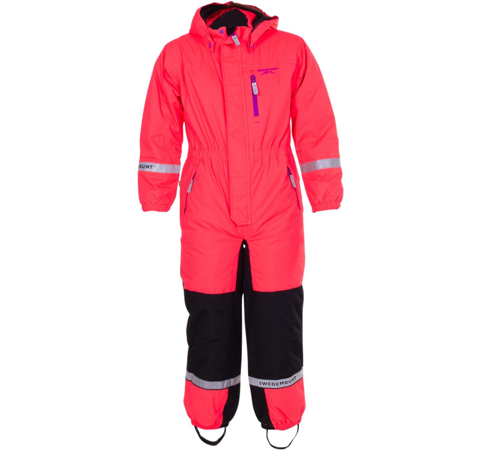 Lillehammer Overall Kids, New Pink/Black, 140,  Swedemount
