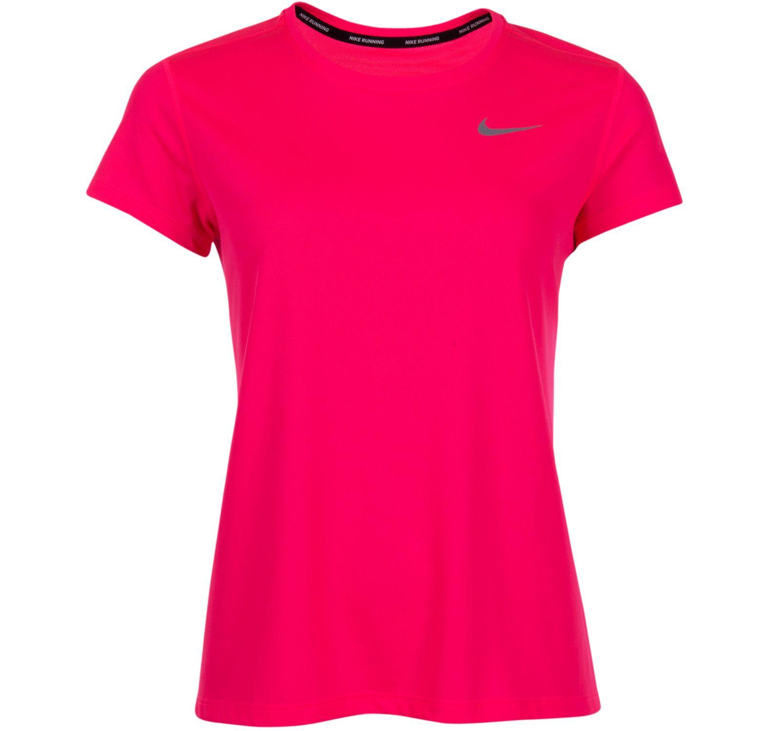 W Nk Brthe Rapid Top Ss, Racer Pink/Racer Pink, Xs,  Nike