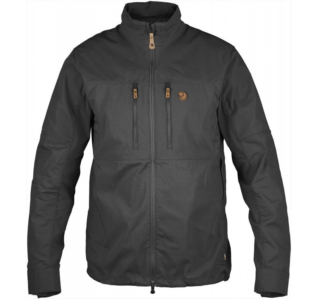 abisko shade jacket m, dark grey, m,  jackor