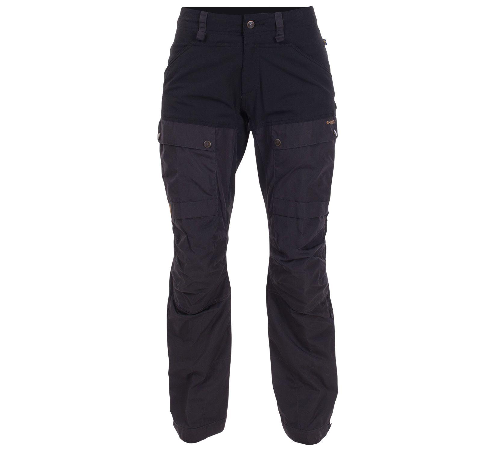 Keb Curved Trousers W, Black, 42