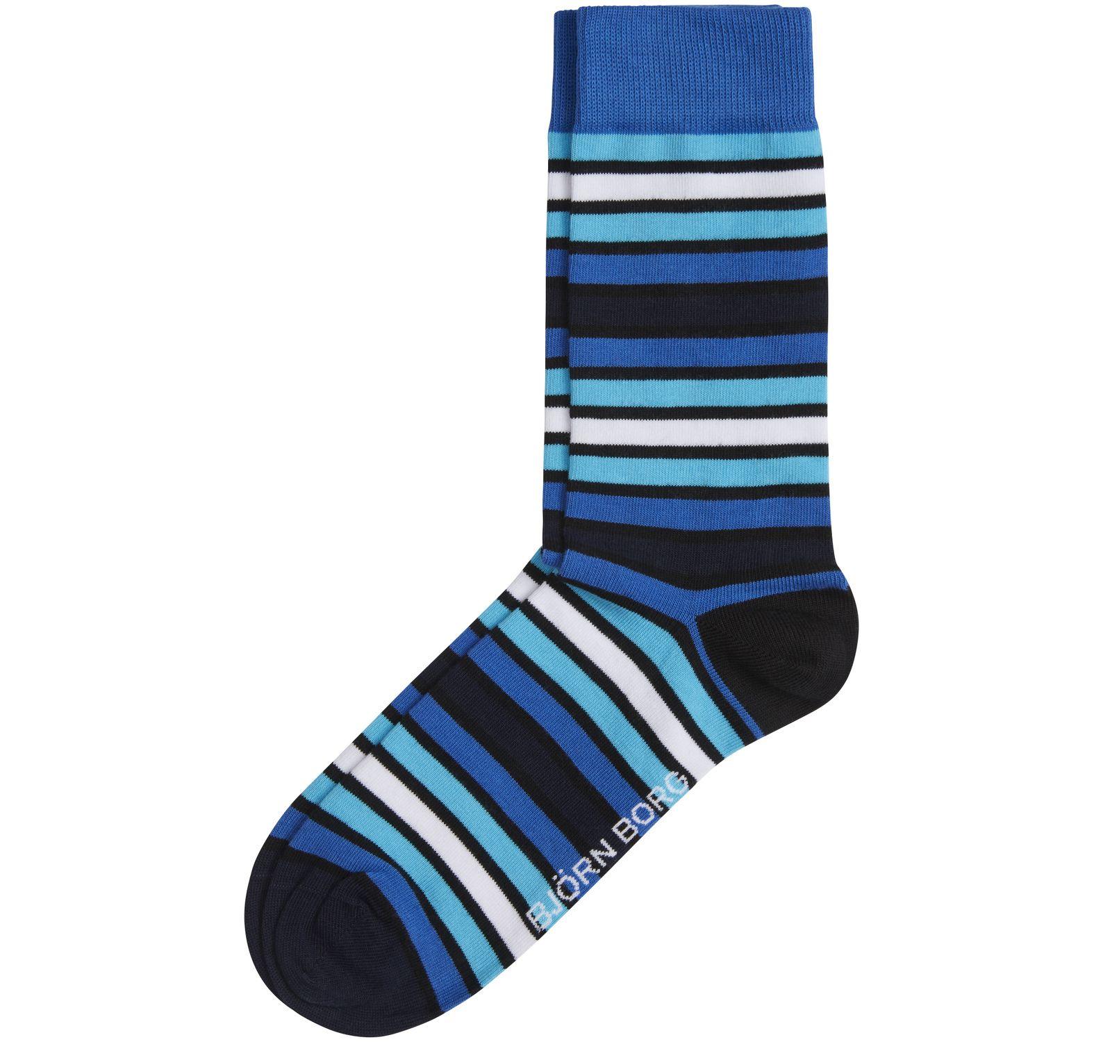 1p Sock Bb Graded Stripe, Directoire Blue, 36-40,  Björn Borg