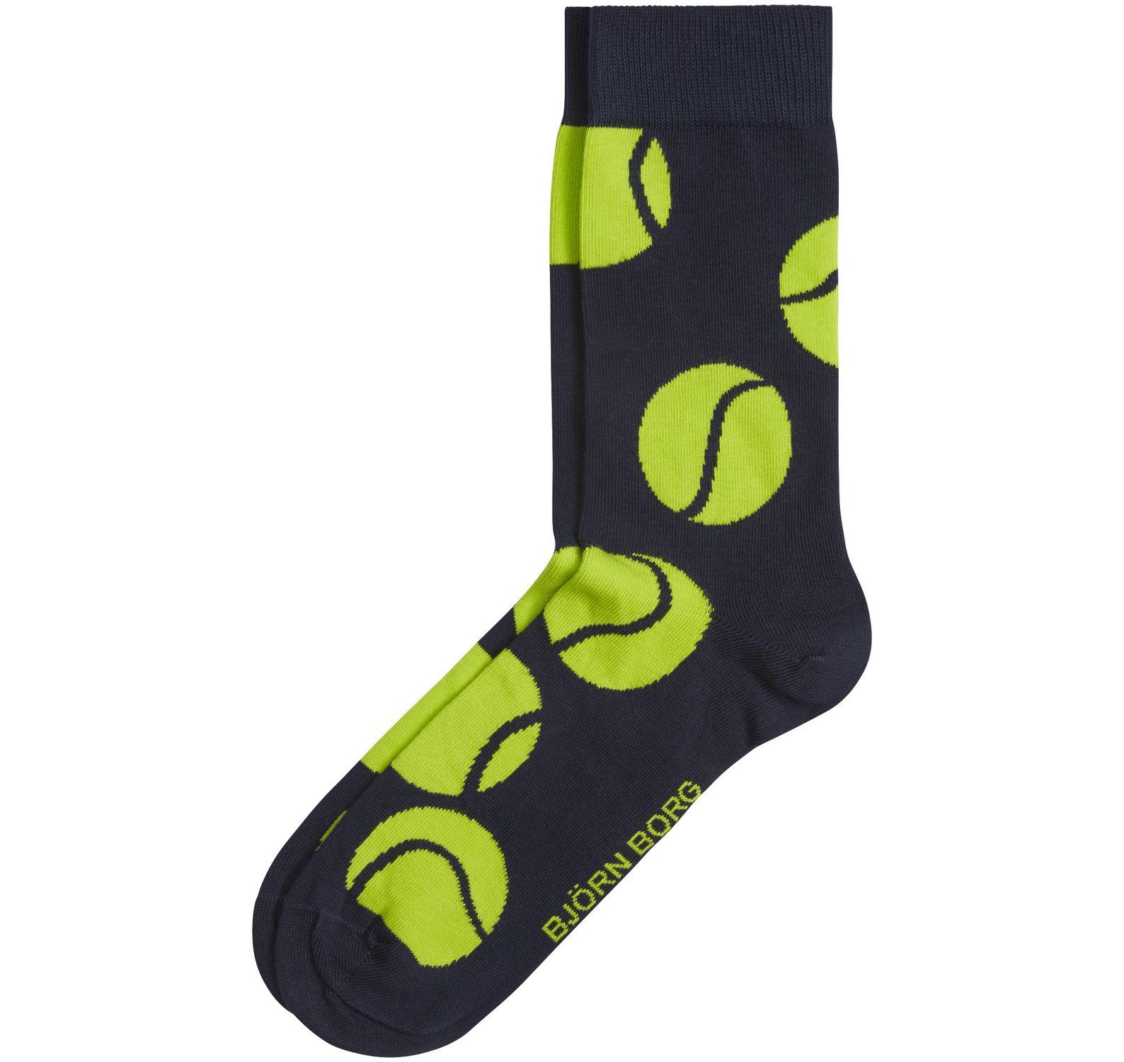 1p Sock Bb Tennis Ball, Peacoat, 36-40,  Björn Borg