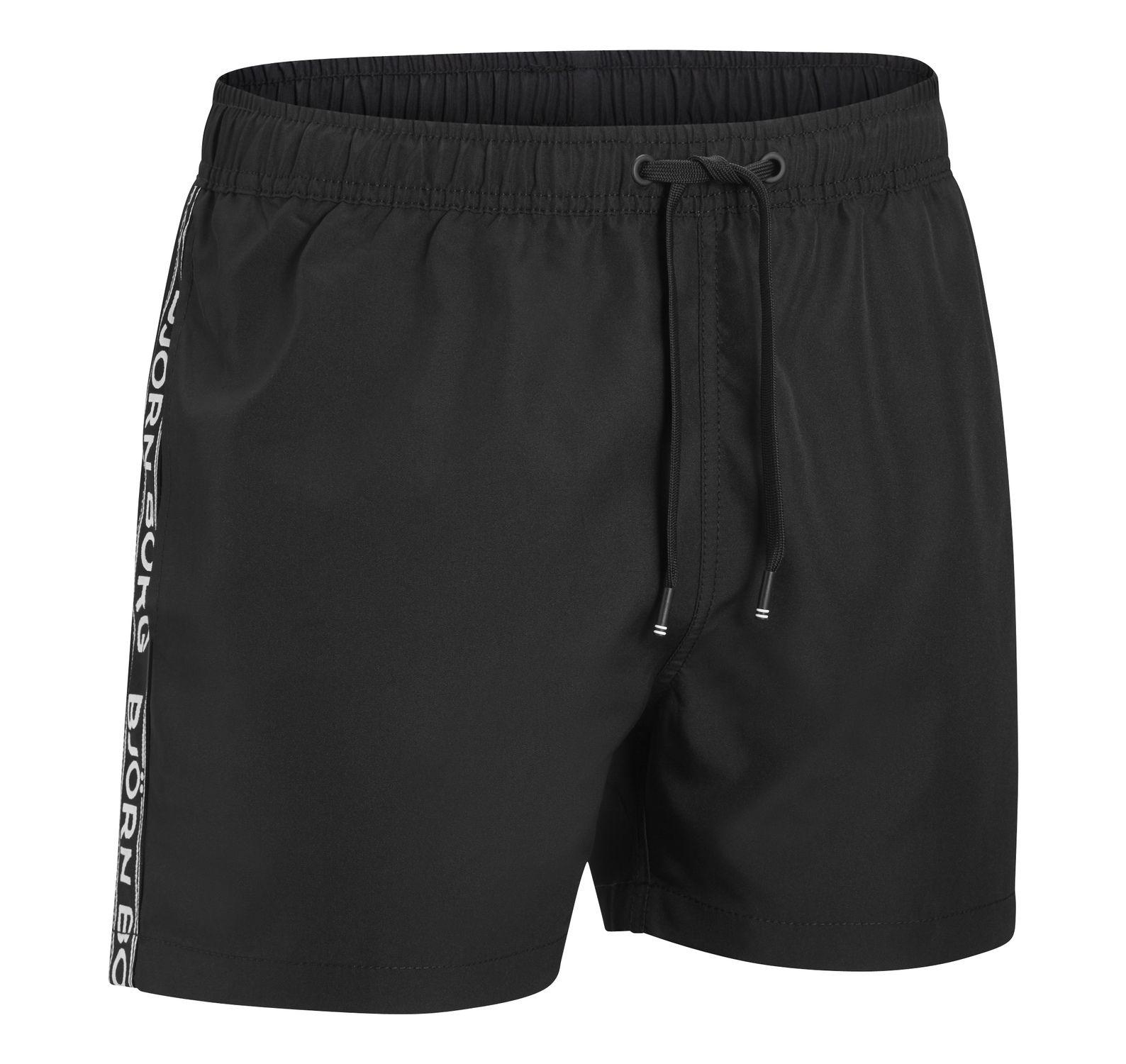 1p Swim Shorts Seasonal Solids, Black, Xs,  Björn Borg