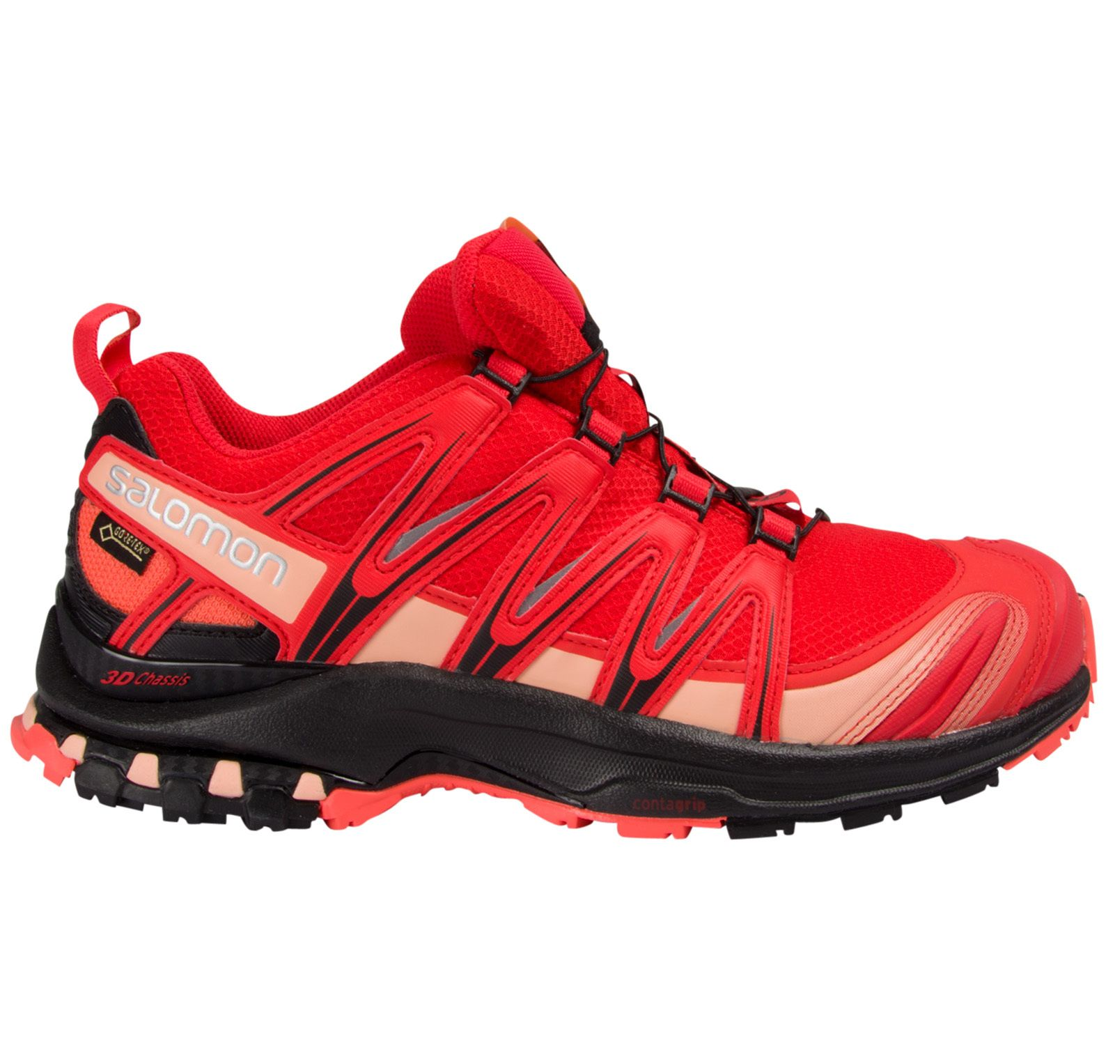 Xa Pro 3d Gtx® W, Poppy Red/ Black/ Living Coral, 36