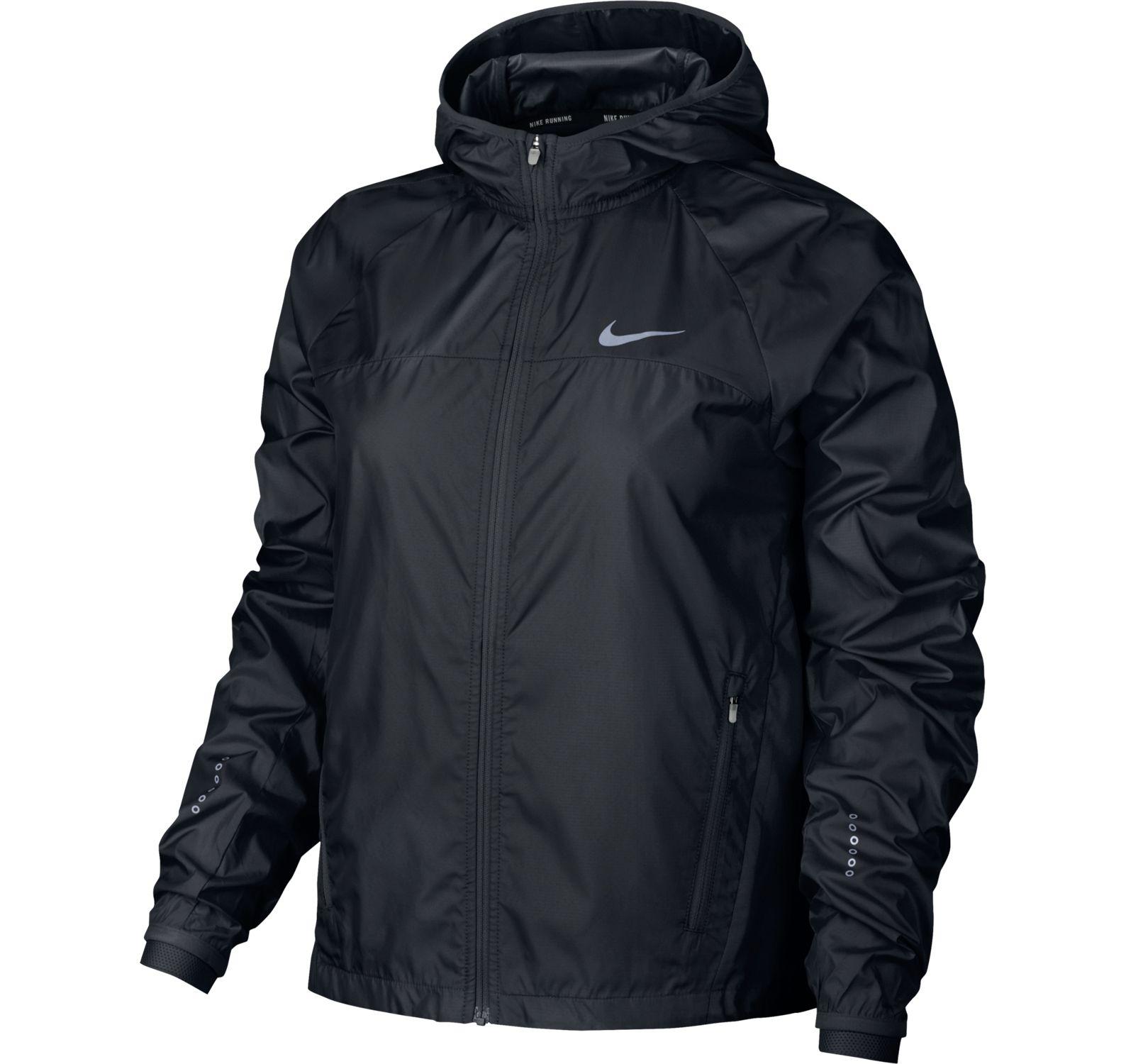 W Nk Shld Jkt Hd Racer, Black, M,  Nike