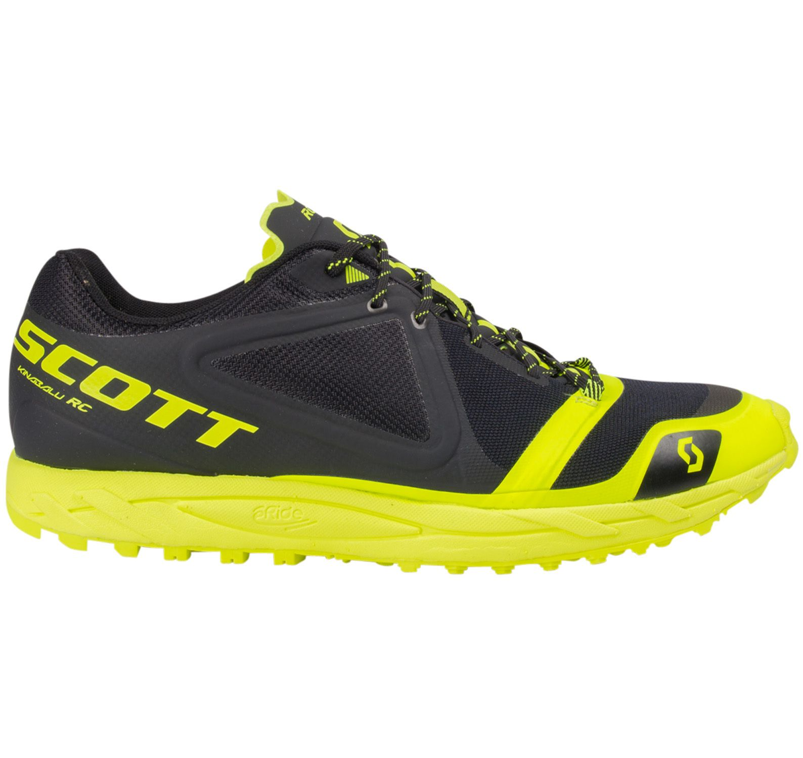 Shoe Kinabalu Rc, Black/Yellow, 10.5,  Varumärken