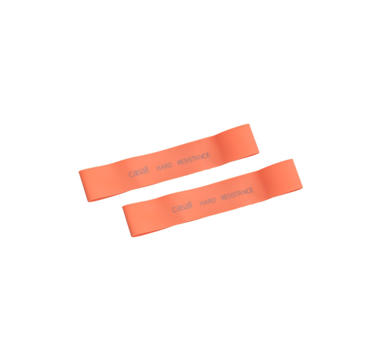 rubber band hard 2pcs, orange, onesize,  casall