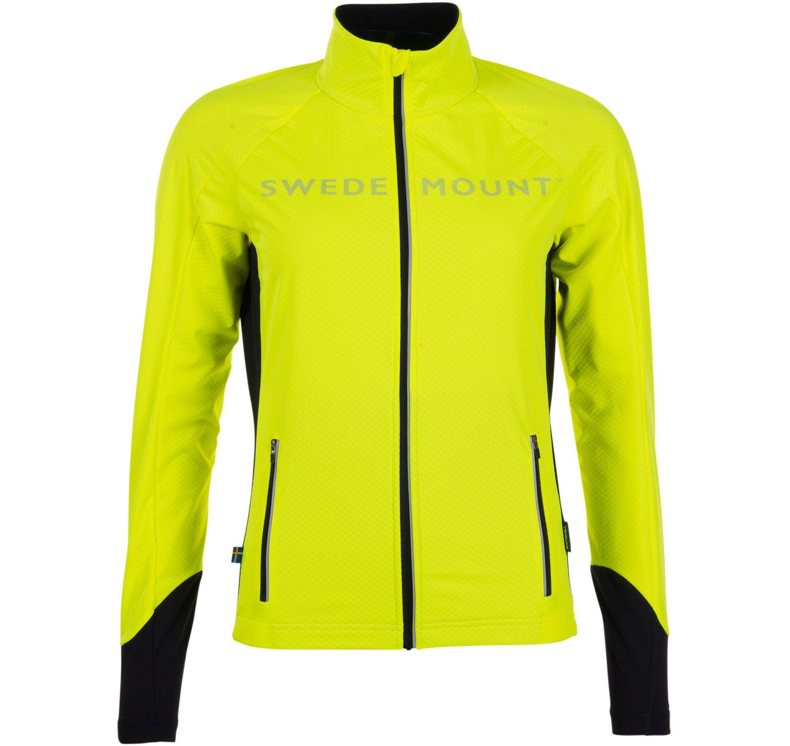 Giro Pro Softshell Jacket W, Neon Yellow, 36, Jackor