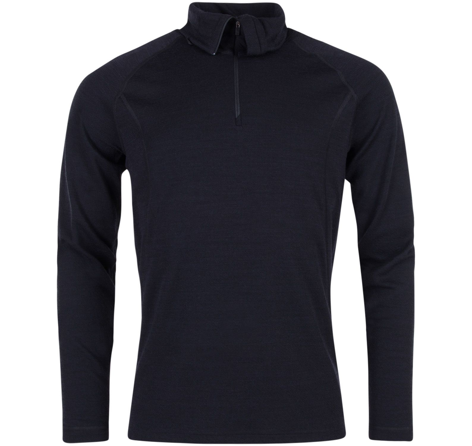 50fifty 2.0 turtle neck w/zip, black/black, s,  ulvang ulltröjor