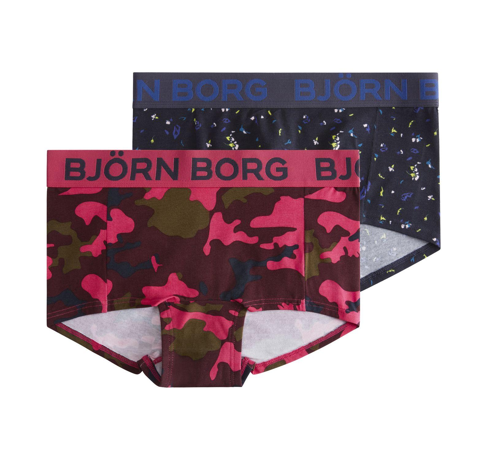 2p Minishorts Bb Camo & Bb Pap, Winetasting, 34,  Björn Borg