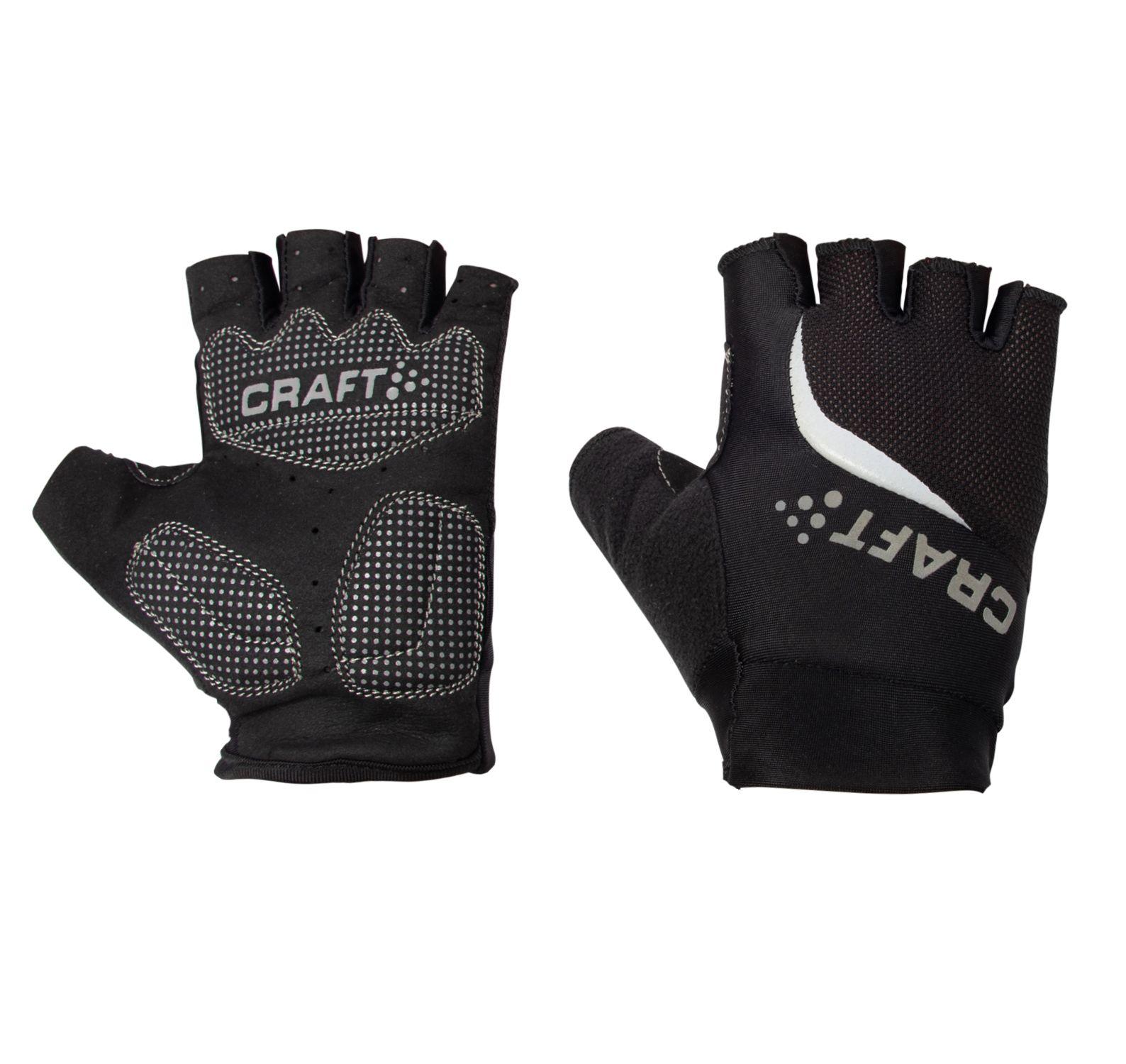 Classic Glove W, Black/White, 6,  Craft