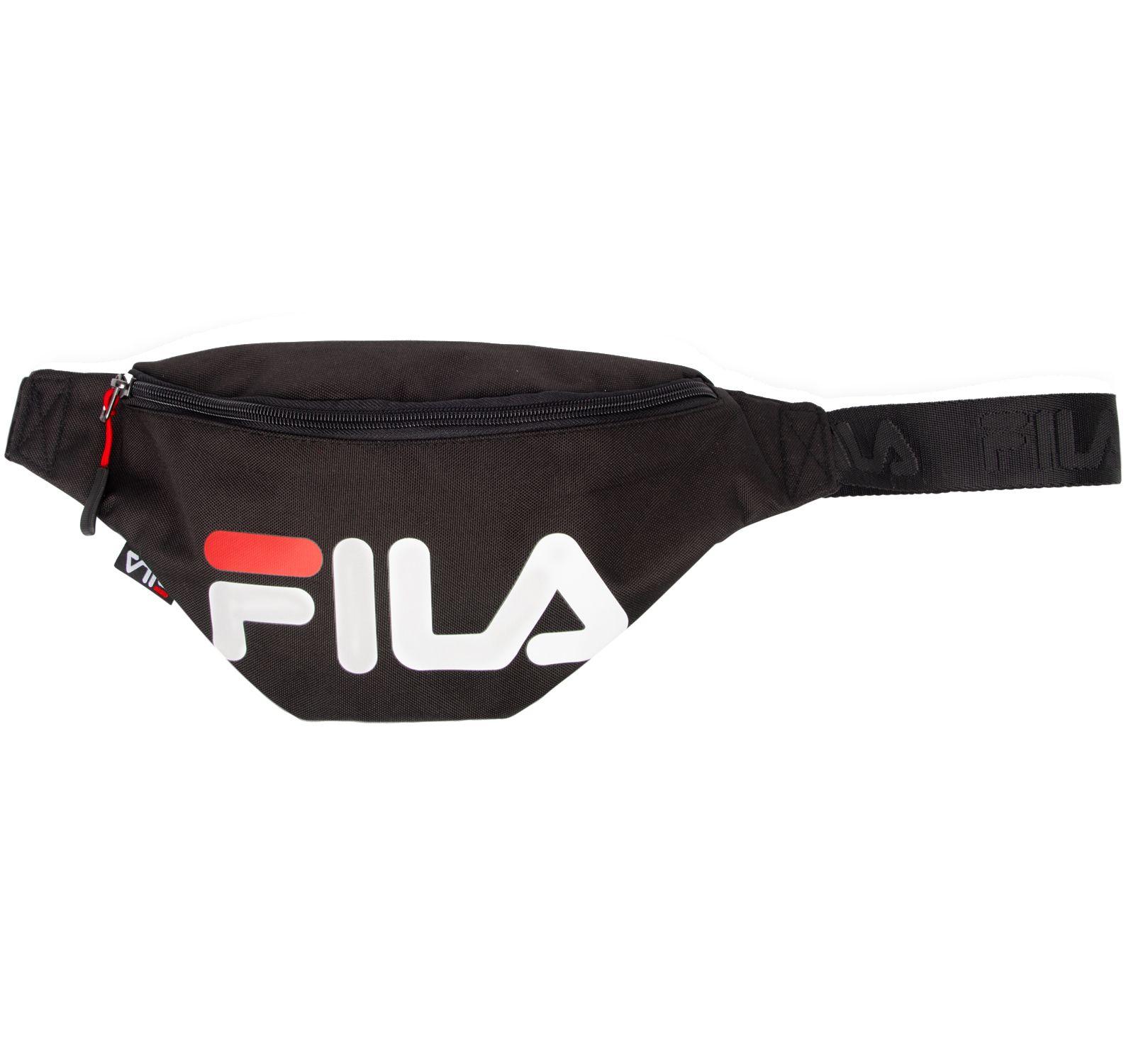 waist bag slim, black, one size, fila – fila