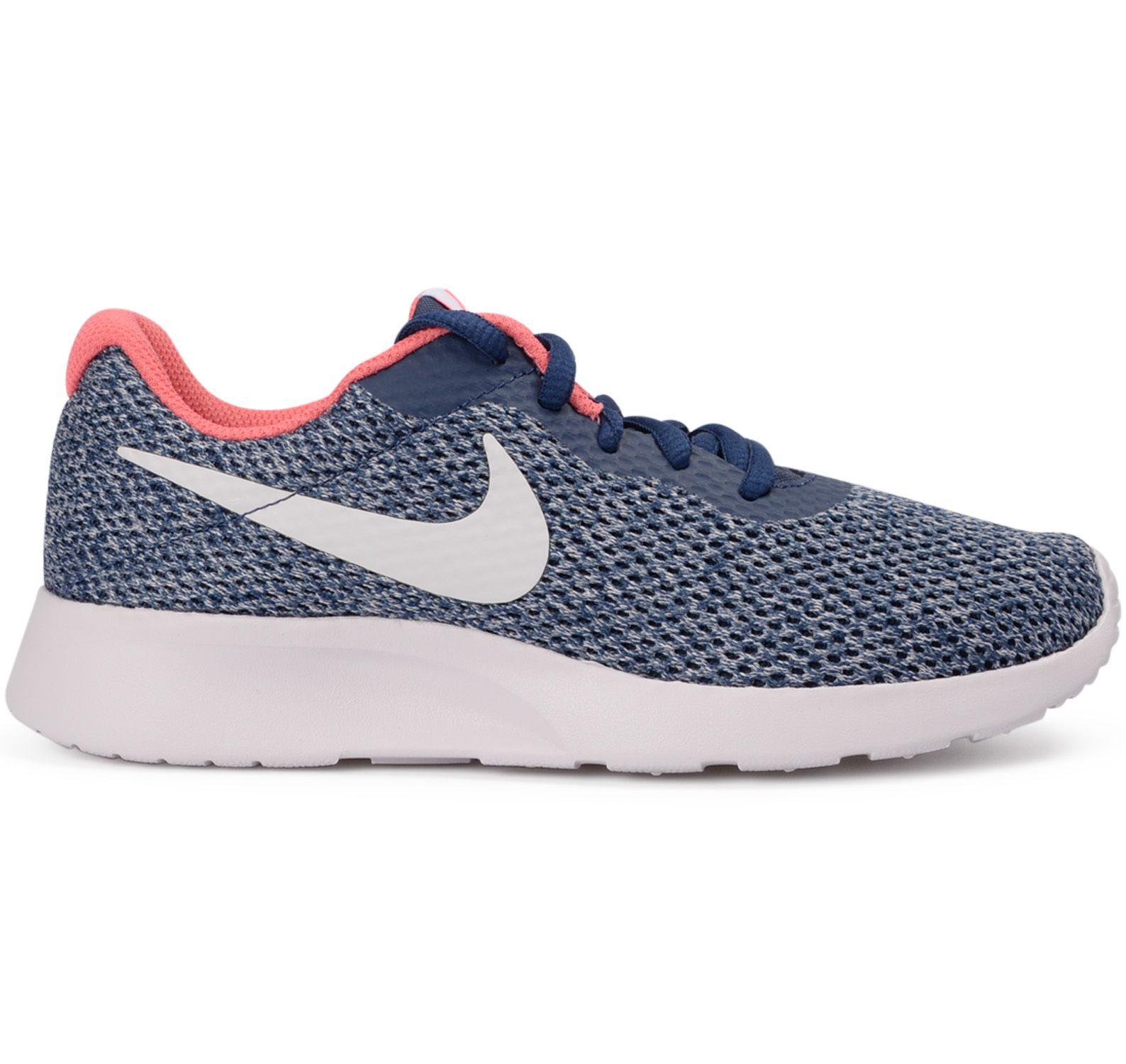 Nike Tanjun Se Dam, Navy/Vast Grey-Sea Coral-Racer, 44,5