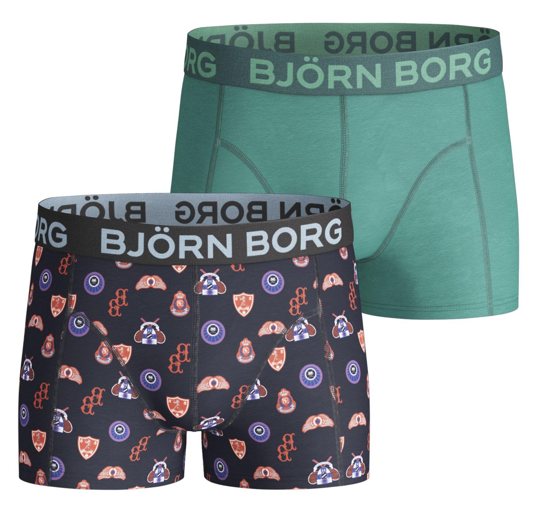 2p Shorts Bb Badges, Peacoat, 170-176,  Björn Borg