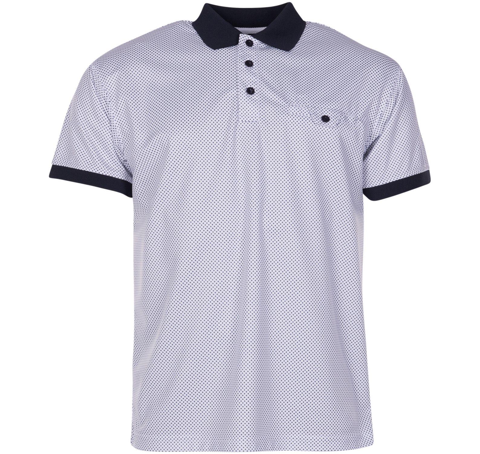shirt 1808 navy s, white, s, varumärken