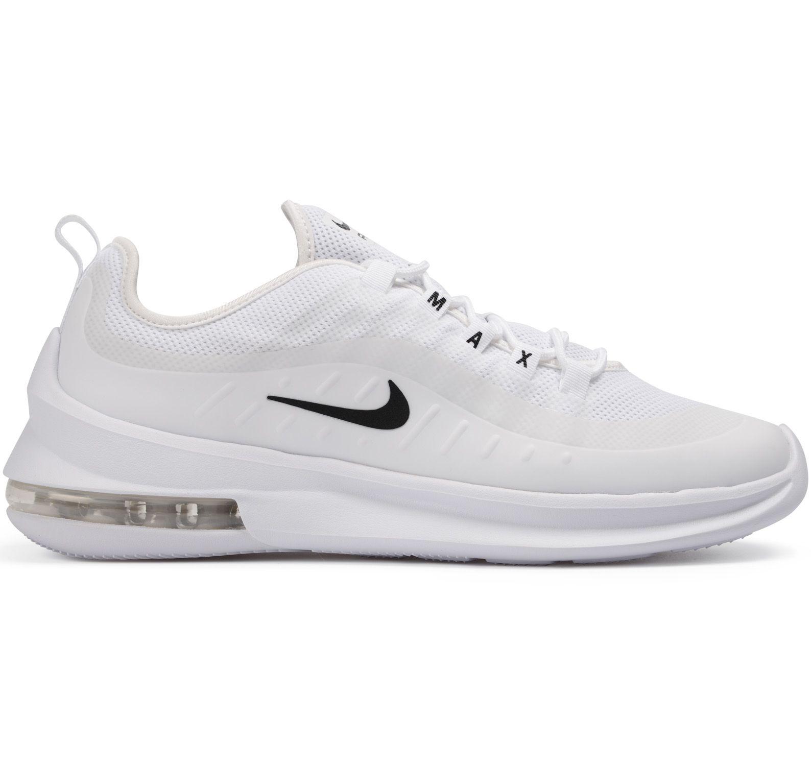 buy popular ed47b b7b4e nike air max axis men s shoe, white black, 46