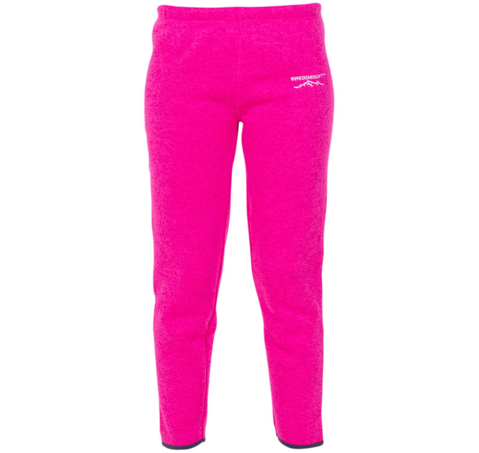 reykjavik fleece pants jr, fresh pink melange, 130
