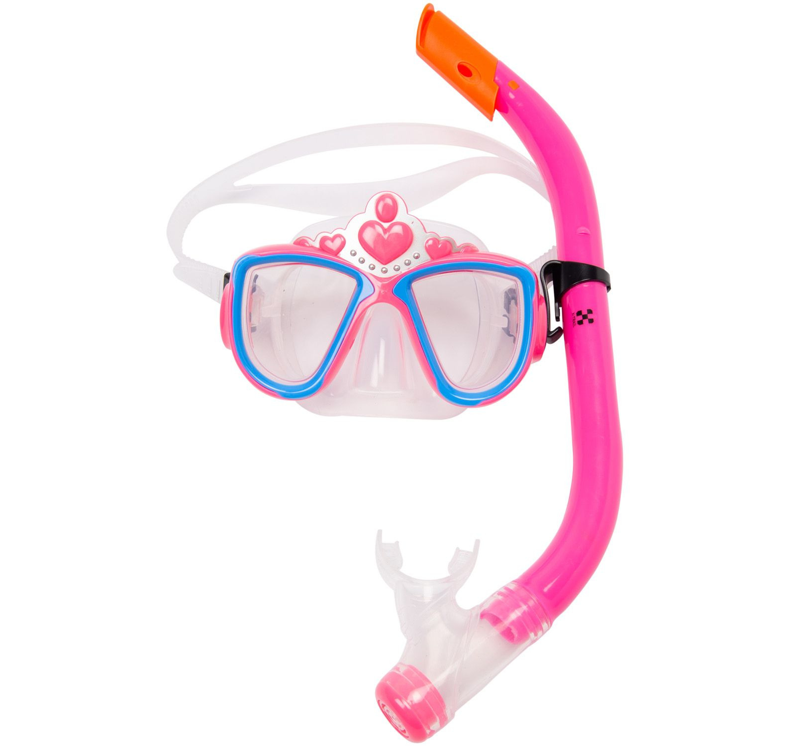 princess snorkelset kids, pink, onesize,  tält
