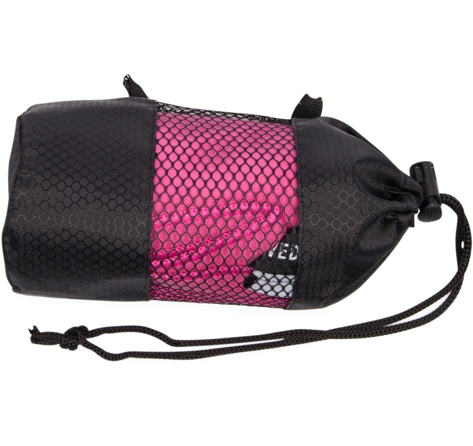microfiber towel medium, pink, onesize, swedemount