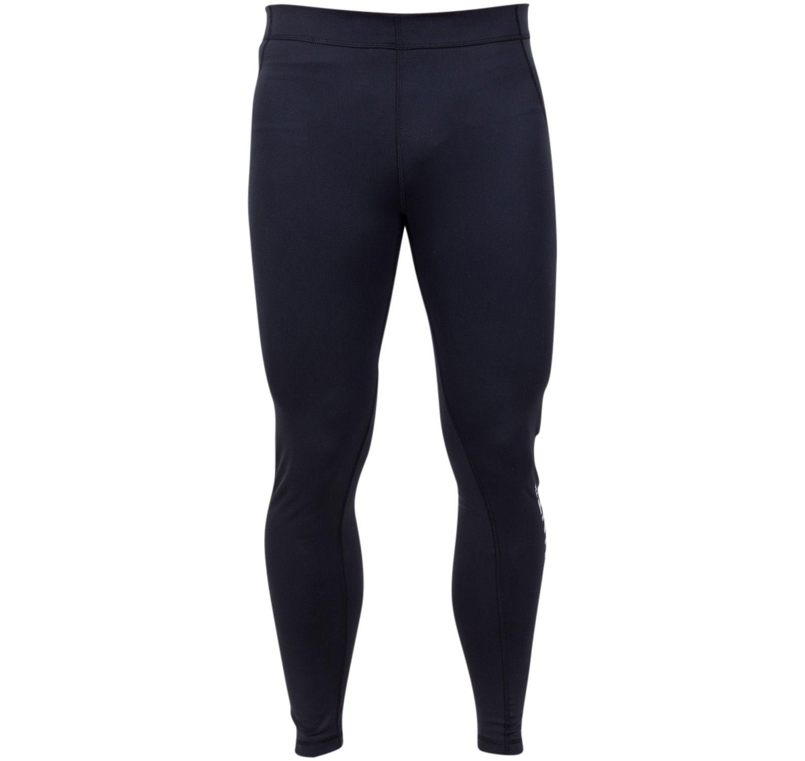 active long tights, black, xl,  löpning