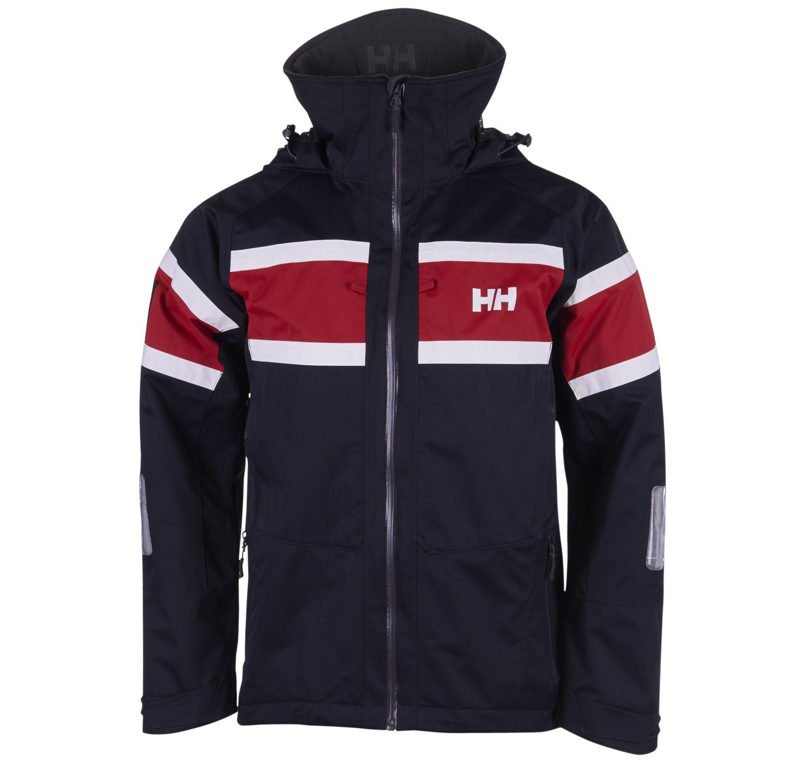 salt jacket, 596 navy, l,  helly hansen jackor