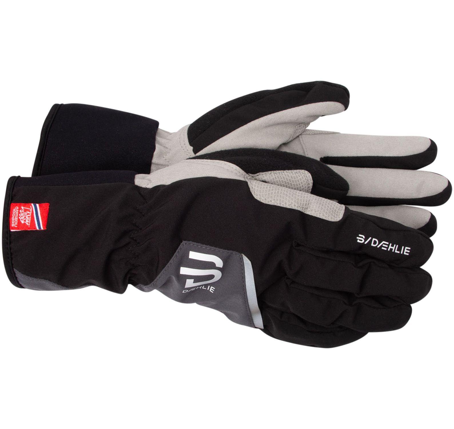 glove track, black, l,  varumärken