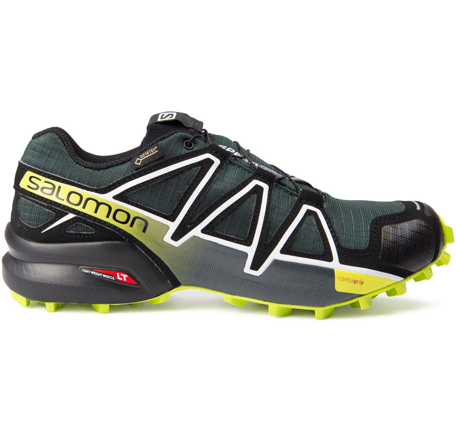 speedcross 4 gtx®, darkestspruce/black/acidlime, 42 2/3